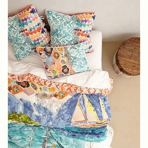 Anthropologie Port of Call - Hothouse Quilt